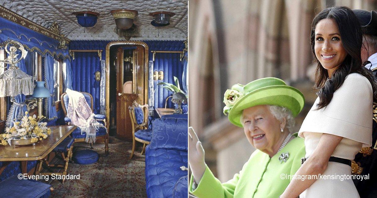 trenreal.jpg?resize=300,169 - El sorprendente privilegio que la Reina Isabel II otorgó a Meghan Markle