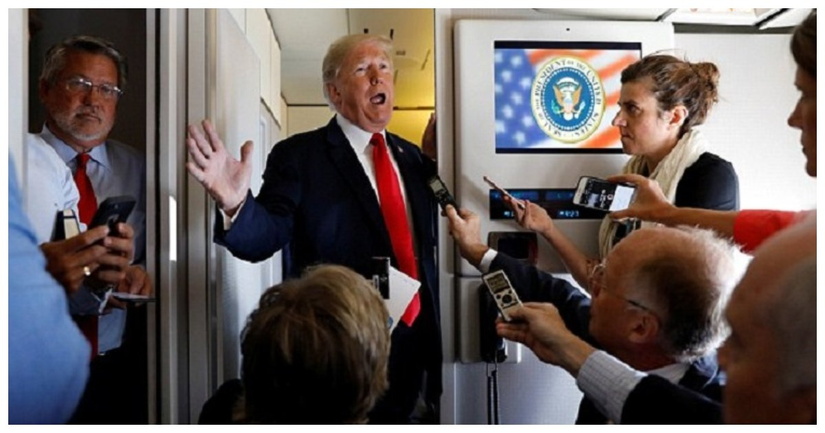 trump 3.jpg?resize=636,358 - Trump Brushes Off Obama's Denunciation, Says He Fell Asleep And Prefers His Own One-Liners