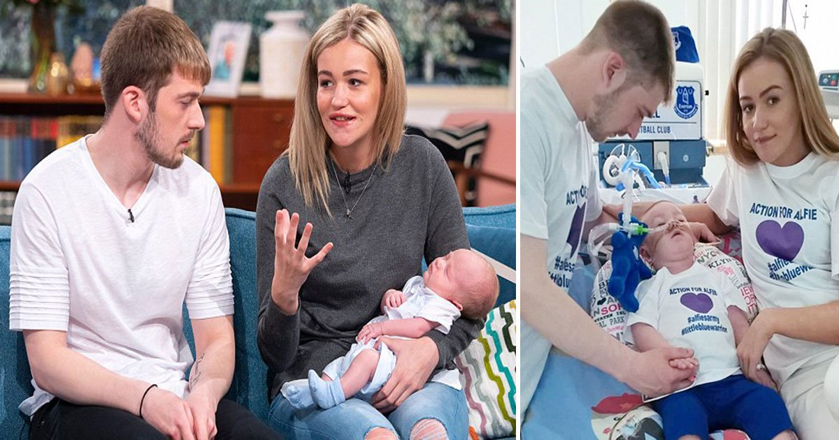 untitled 1 9.jpg?resize=412,232 - Tom Evans and Kate James Appeared On This Morning With Their Newborn Who Was Born Four Months After Alfie Died