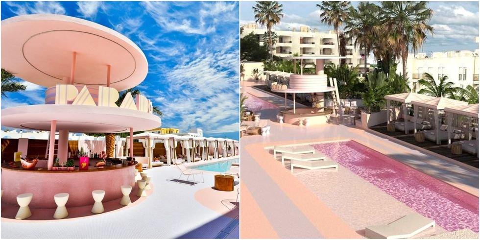 untitled collage 1535097919.jpg?resize=648,365 - 粉紅香檳泳池太夢幻!歡迎光臨西班牙前衛飯店,根本是粉色控天堂~
