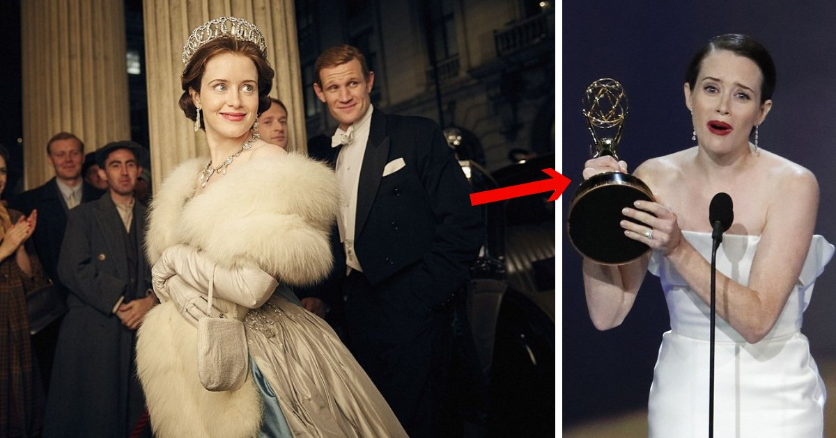 untitled design 1 11.png?resize=636,358 - Shocked Claire Foy Holds Back Tears While Accepting Best Actress Emmy For The Crown