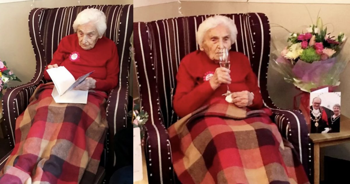 """untitled design 1 8.png?resize=1200,630 - A 105 Year Old Woman Reveals """"Staying Away For Men"""" Is Her Secret To This Long Life"""