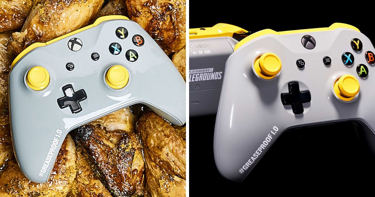 untitled design 31.png?resize=1200,630 - Xbox Releases Greaseproof Controller That Every Gamer Needs To Have