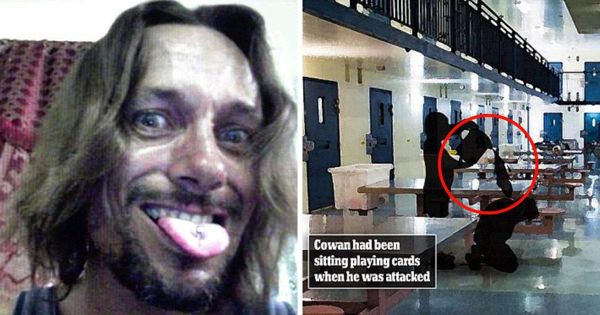 untitled design 33.png?resize=636,358 - Des prisonniers attaquent un tueur d'enfant après commencé une émeute massive au sein de la prison