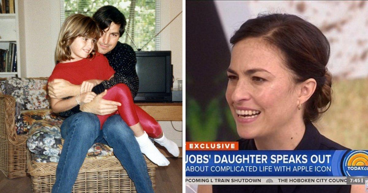 untitled design 39.png?resize=412,232 - La fille de Steve Jobs admet que son père avait raison quand il lui a dit qu'elle «sentait les toilettes» sur son lit de mort.