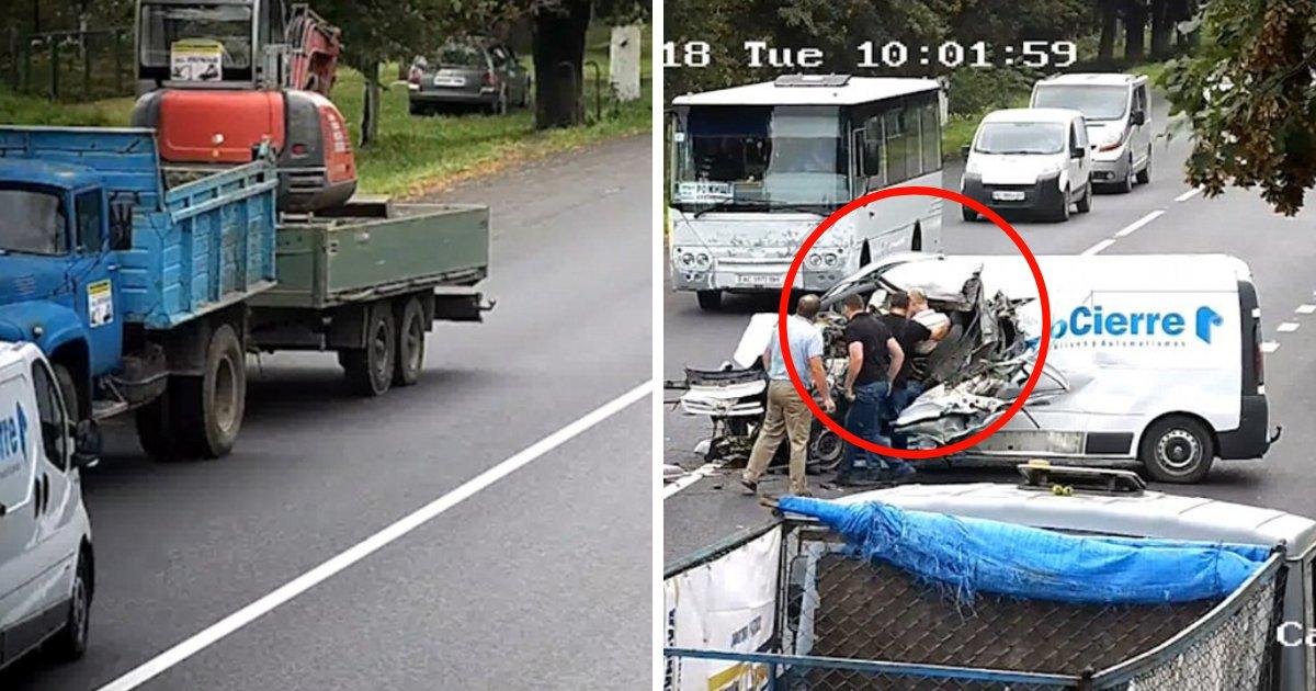 untitled design 42.png?resize=1200,630 - Quel miracle, le conducteur échappe à la mort après s'être endormi au volant !