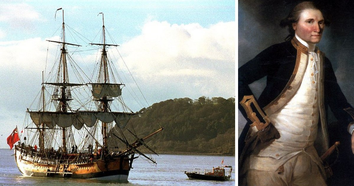 untitled design 7 2.png?resize=412,232 - Legendary Captain Cook's Ship Discovered 250 Years After It First Sailed