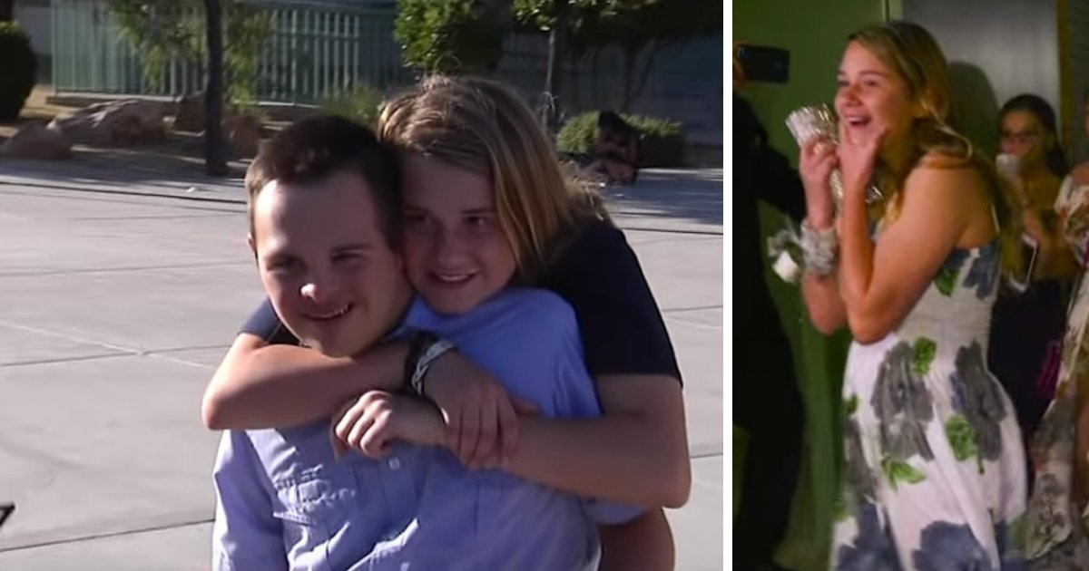 untitled design 9 2.png?resize=300,169 - Girl Asks Boy With Down Syndrome To School Dance After Everyone Rejected Him