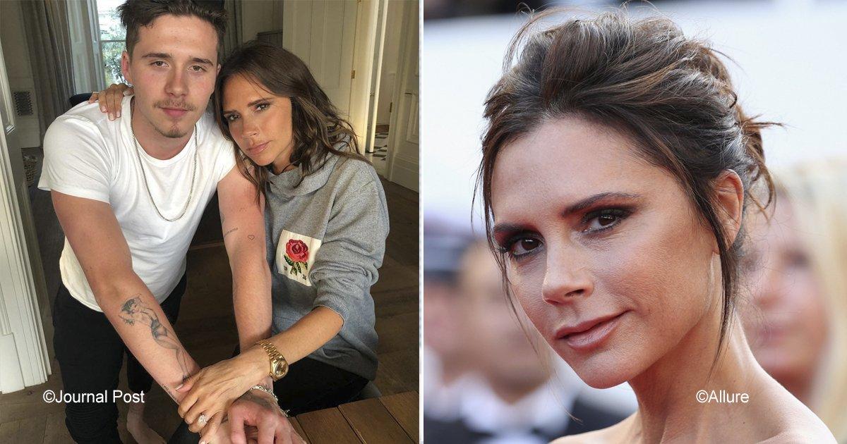 victoria.jpg?resize=300,169 - 4 Trucos sencillos de belleza que hacen que Victoria Beckham se vea tan joven como su hijo