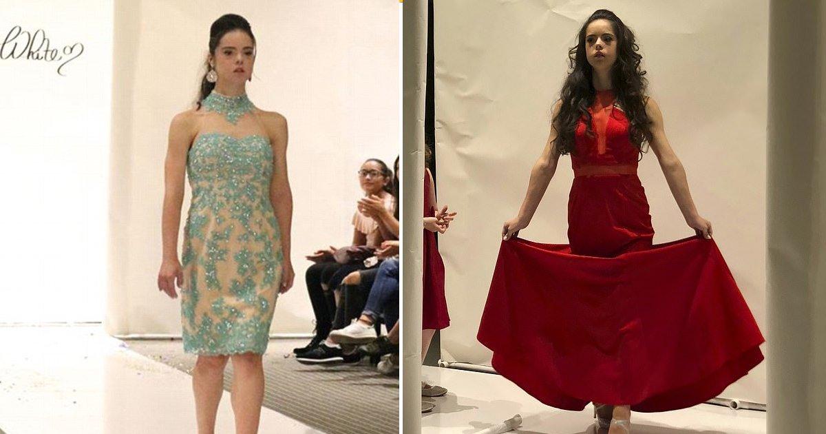 vxvx.jpg?resize=300,169 - Modelo con síndrome de Down vive su sueño de modelar en la Semana de la Moda de Nueva York y todo el crédito va a Talisha White