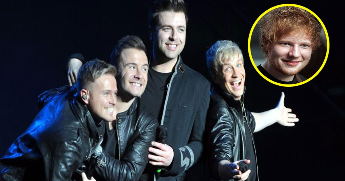 westlife to reunite after six years and ed sheeran is writing boybands comeback single.jpg?resize=412,232 - Westlife To Reunite After Six Years And Ed Sheeran Is Writing Boyband's Comeback Single