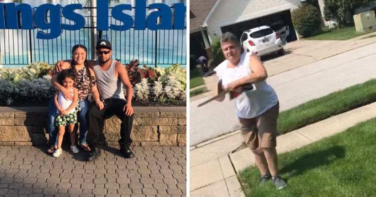 woman5.png?resize=412,232 - Une femme menace de tuer ses voisins hispaniques et de les attaquer physiquement