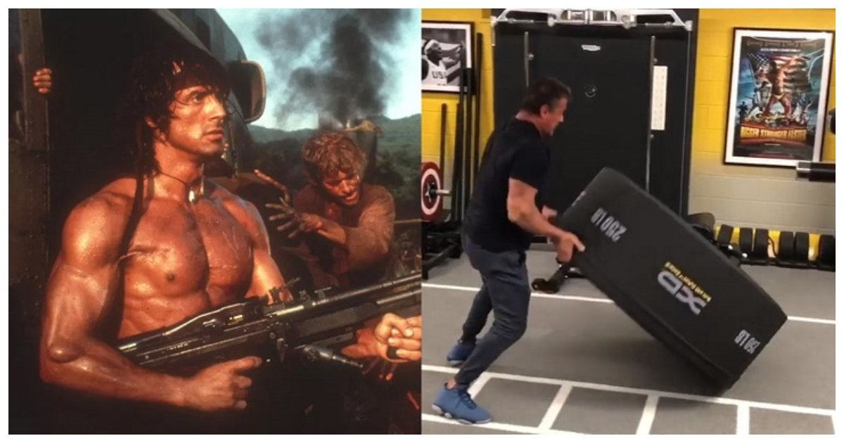 workout.jpg?resize=636,358 - Sylvester Stallone's Workout Video Shows How Pumped Up He Is As He Prepares For Rambo 5