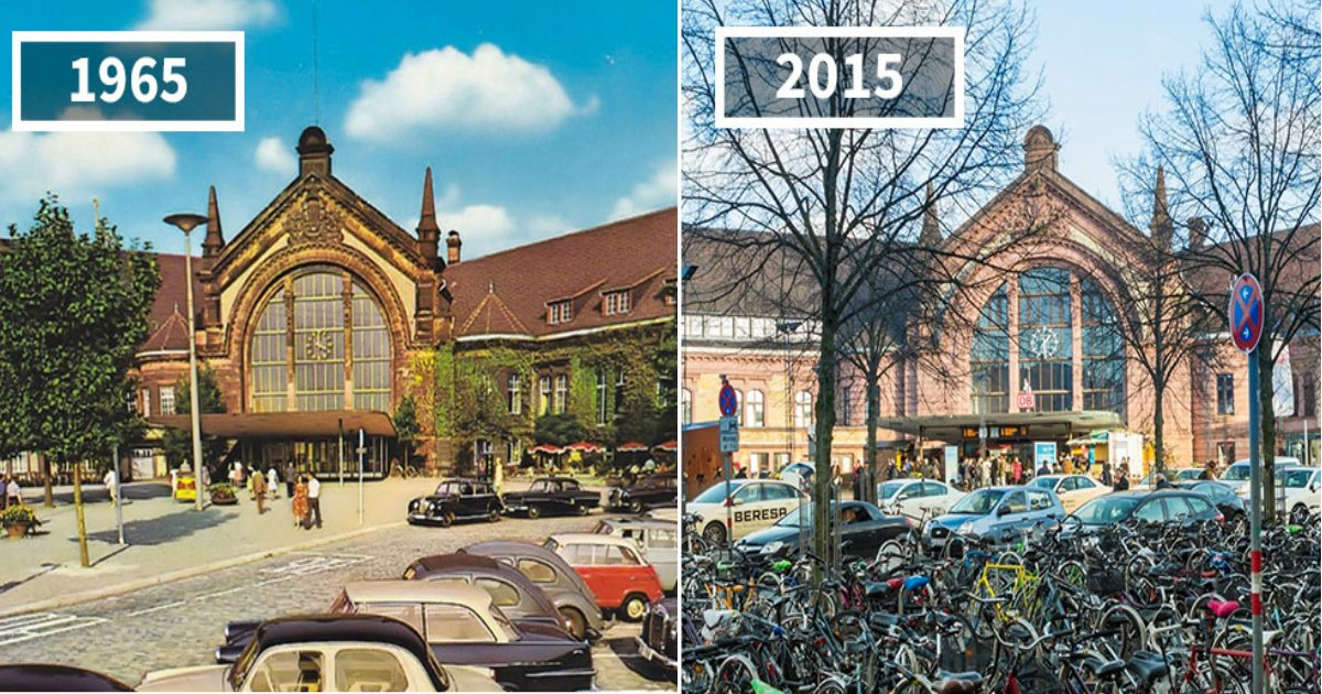 world change.jpg?resize=1200,630 - 15 Pairs Of Before & After Photos Of How Much The World Has Changed Over The Years