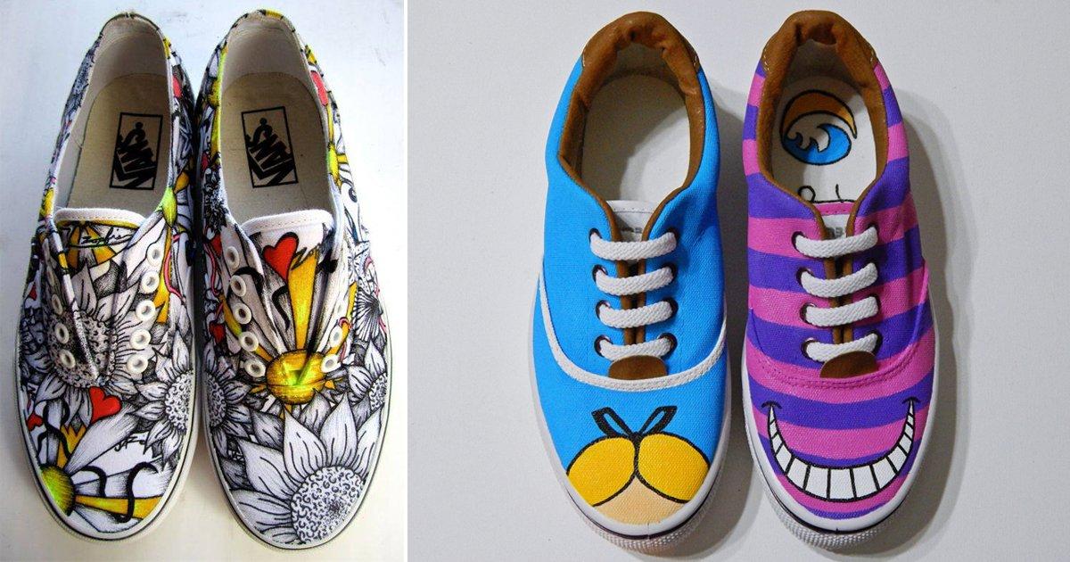 zap.jpg?resize=1200,630 - 23 Ideas para que customices tus zapatillas deportivas y las hagas únicas