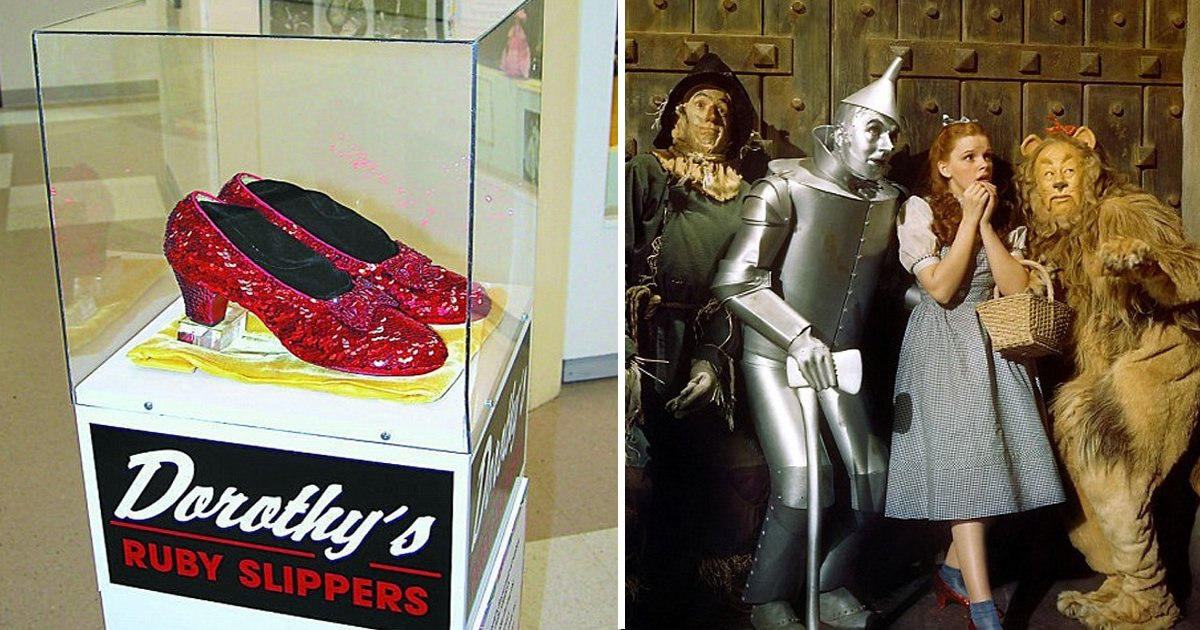 zzs.jpg?resize=636,358 - Stolen Judy Garland's Ruby Slippers From 'Wizard Of Oz' Finally Found After 13 Years