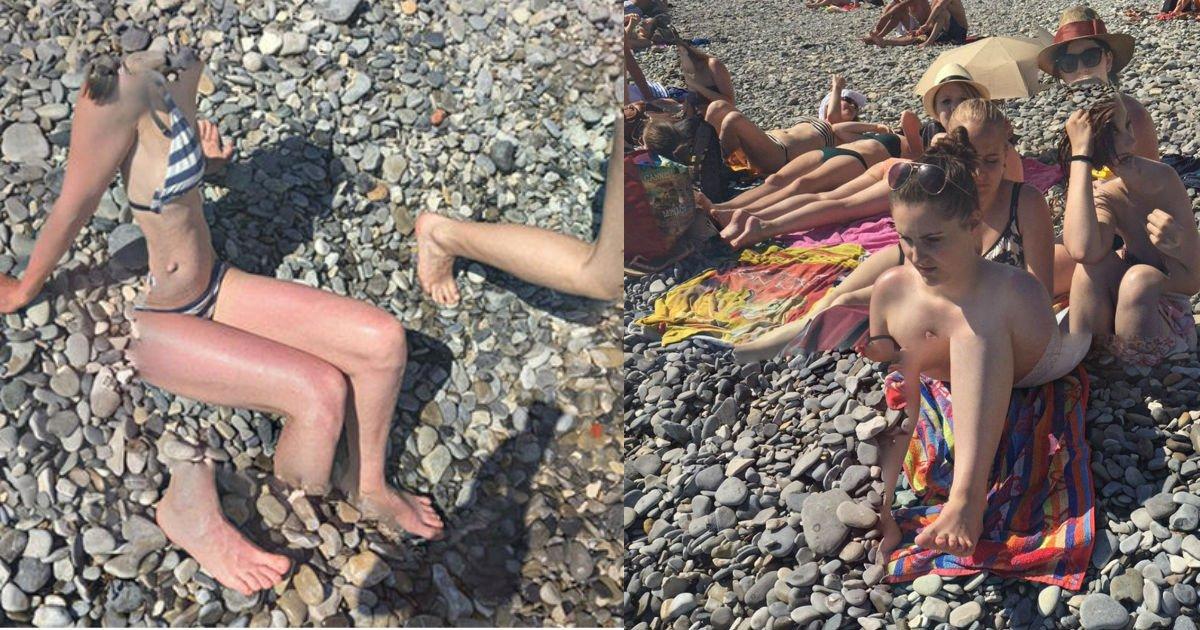 """1 copy.jpg?resize=300,169 - 【グーグルマップ】発見されたビーチの恐怖画像!!!...「体半分の水着美女」、「解体されたカップル」、「悪夢の""""ボディスワップ""""」も…!?"""