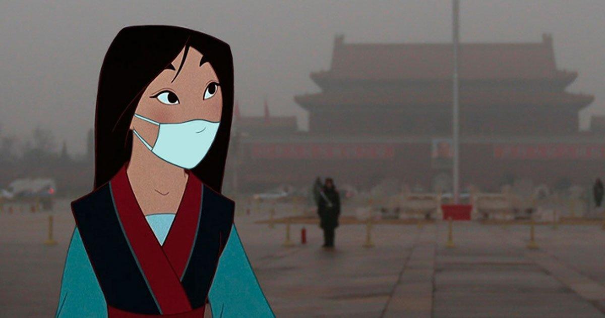 11 89.jpg?resize=412,232 - Un artista crea imágenes del mundo actual con los personajes de Disney como protagonistas, haciéndonos pensar en lo importante que es salvar a la Tierra