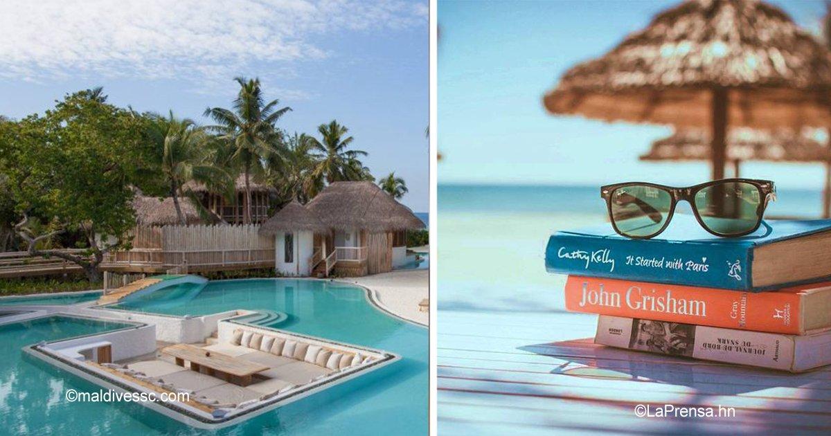 12 41.jpg?resize=412,232 - El trabajo perfecto sí existe: un hotel lujoso en las Maldivas está contratando personal para trabajar en bibliotecas