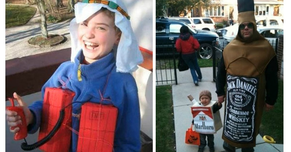 13 67.jpg?resize=1200,630 - The 16 Most Inappropriate Halloween Costumes For Kids. #10 Is Too Cool To Be Wrong.