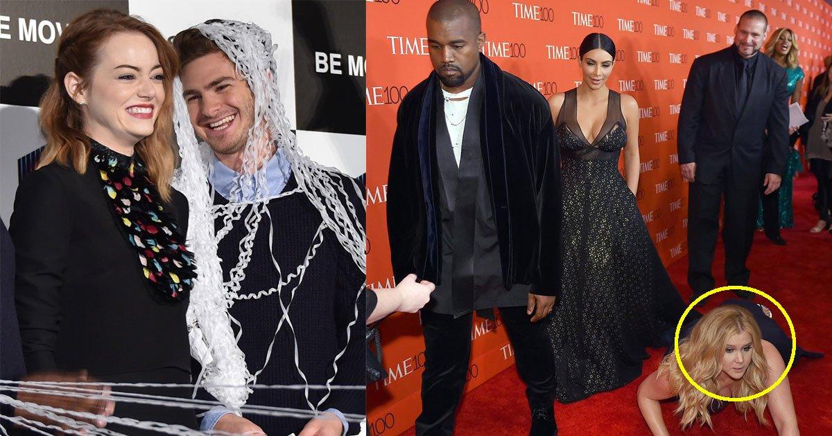 14 awkward celebrity moments that will make you laugh hard.jpg?resize=412,232 - 11 célébrités qui ont connu de grands moments de gêne