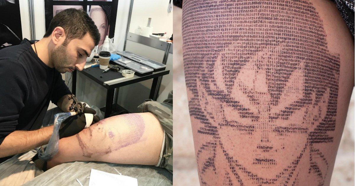 181002 205.jpg?resize=1200,630 - 你看到的刺青不是普通刺青!世界首位文字圖藝術家每一針都藏有玄機
