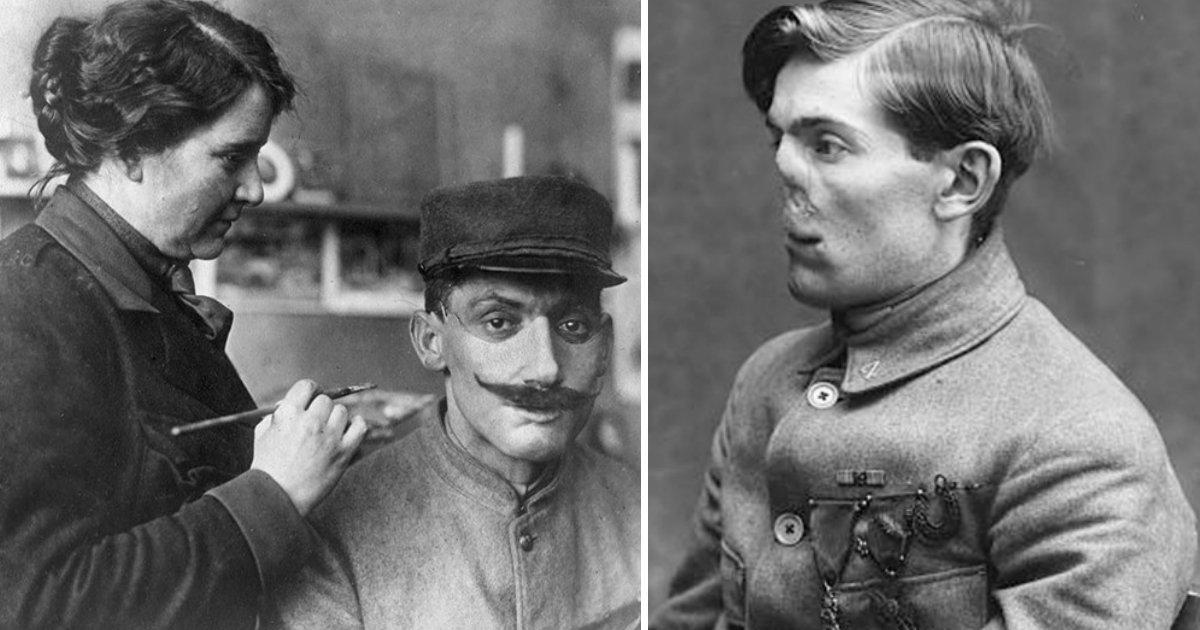 181006 212.jpg?resize=300,169 - 拯救在戰爭毀容的傷兵回到正常人生,製作人皮面具的女性雕刻家