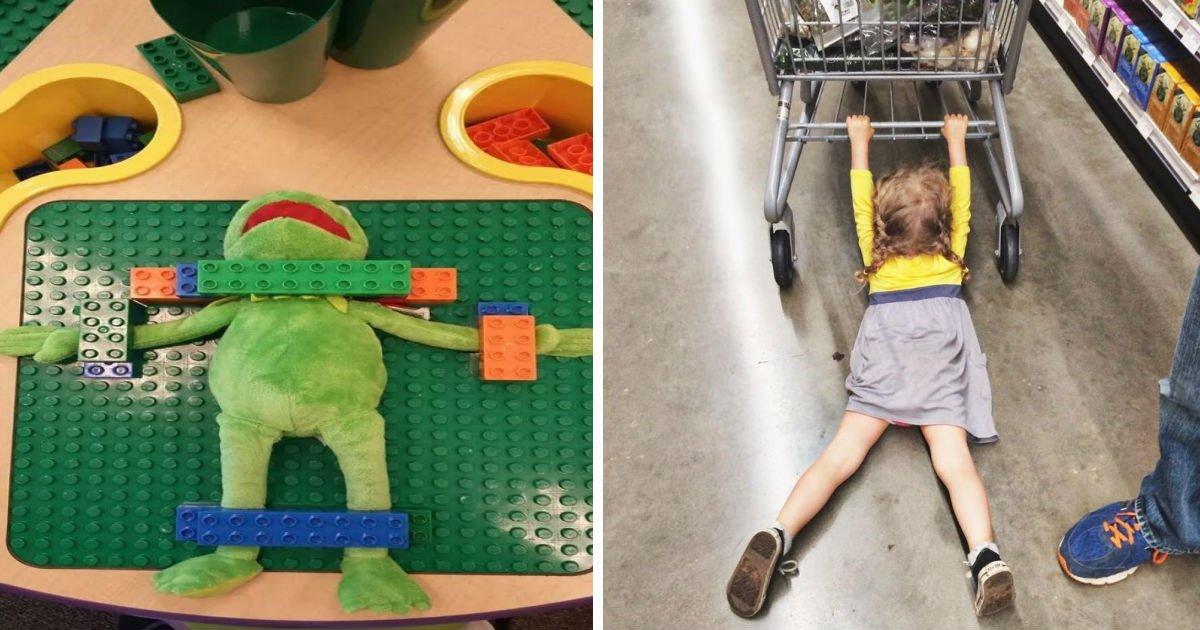 19 17.jpg?resize=412,232 - 25 photos: prouver que faire du shopping avec les enfants, c'est une mission impossible