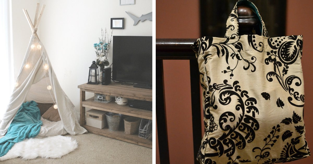 2 176.jpg?resize=412,232 - 15 Crafty Ways To Upcycle Old Curtains