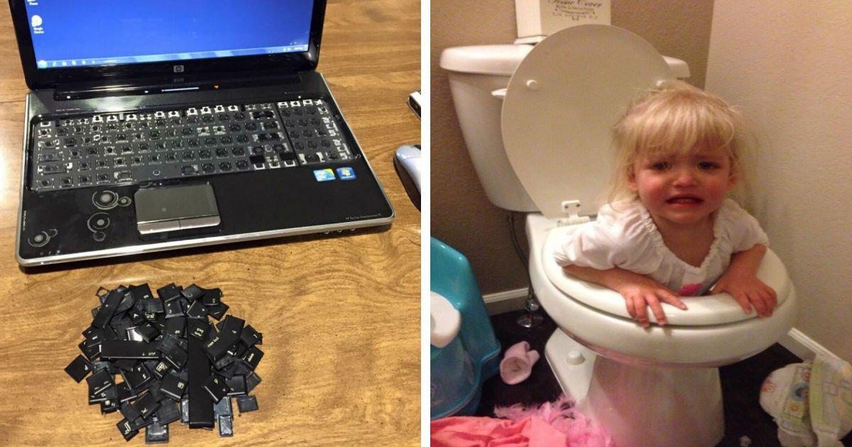 20 4 1.jpg?resize=636,358 - 27 photos prouvant qu'un enfant laissé seul est une force très destructrice