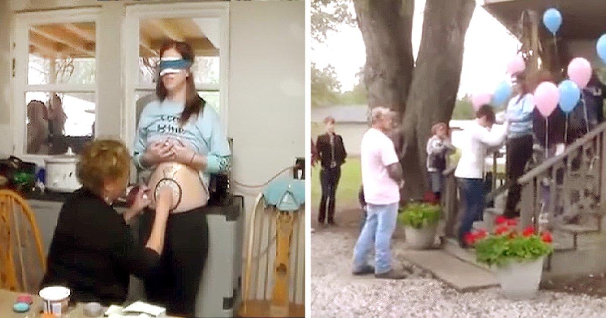 222.png?resize=648,365 - Ella creyó que sería una fiesta para su futuro bebé, pero al ver el mensaje en su barriga quedó en shock