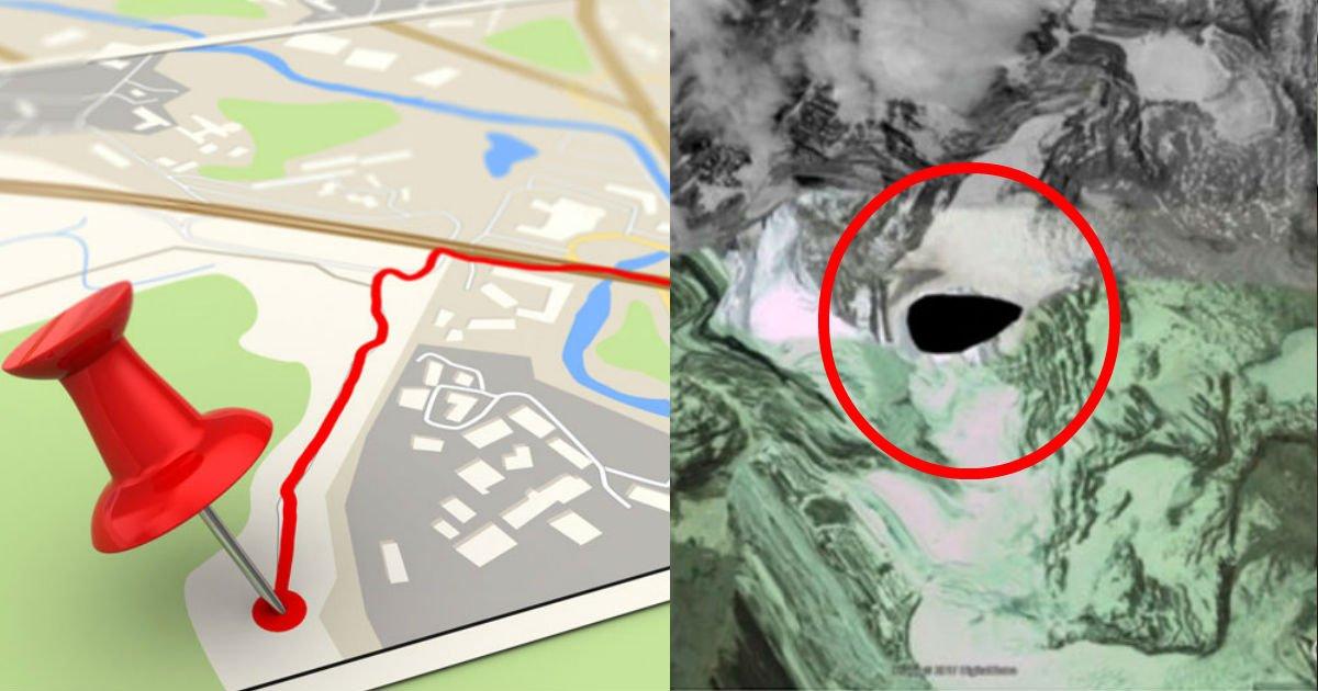 3 210.jpg?resize=412,275 - グーグルマップが激撮した不気味光景5選! 「ヒマラヤのブラックホール」、「沈没寸前の客船」