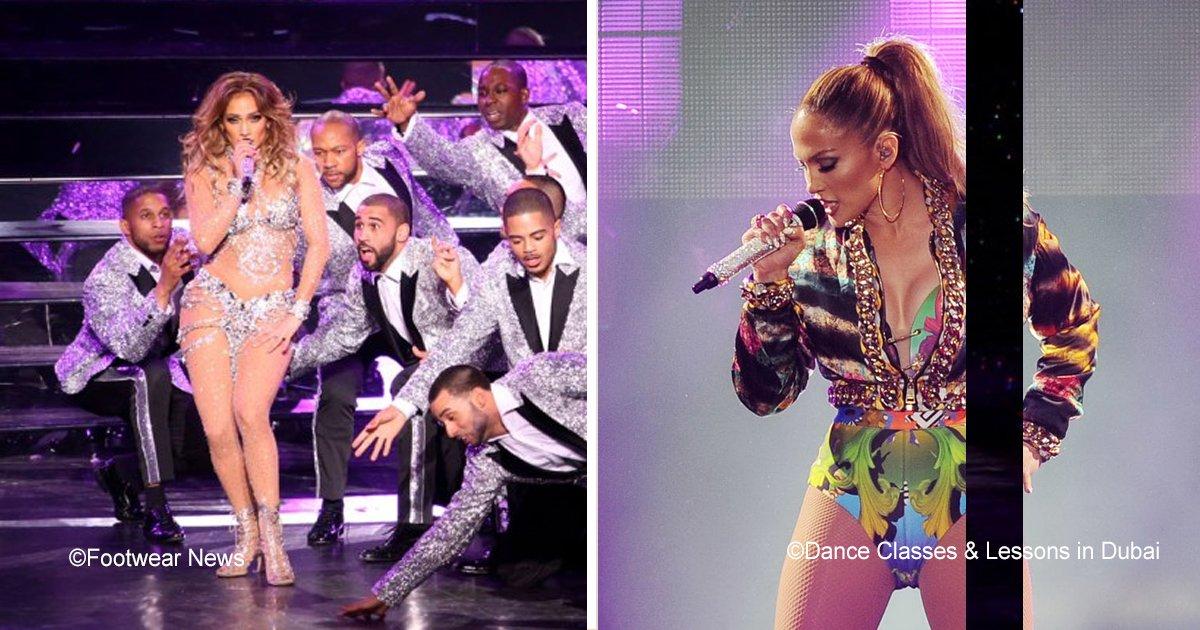 3 63.jpg?resize=648,365 - Jennifer Lopez se cayó en el escenario y se levantó como toda una profesional