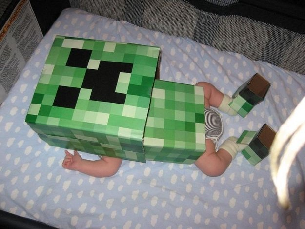 http://www.forkparty.com/5741/minecraft-costumes/minecraft-costume-baby-creeper