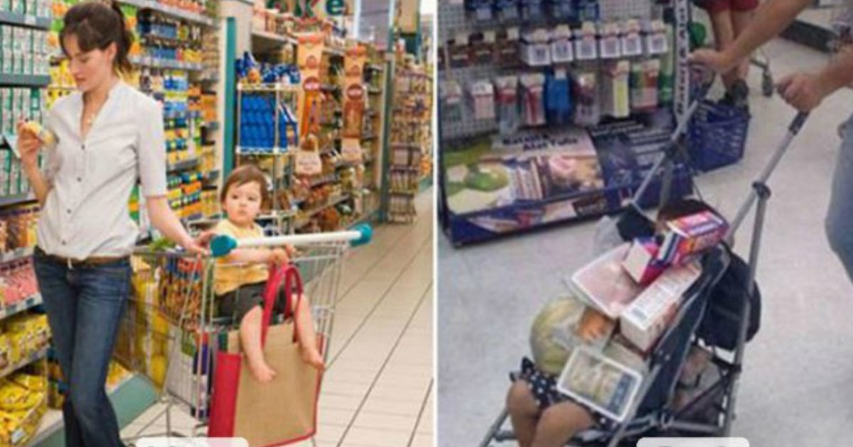 8 1.jpg?resize=636,358 - 23 Hilarious Differences Between Mom And Dad's Parenting Styles