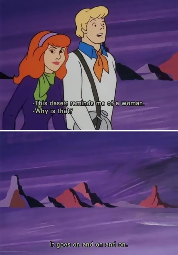 Fred From Scooby Doo Decided To Make A Sexist Joke