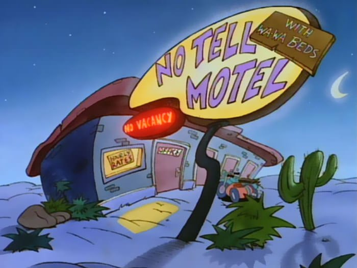 After A Tiring Day You Could Go To This Motel From Rocko