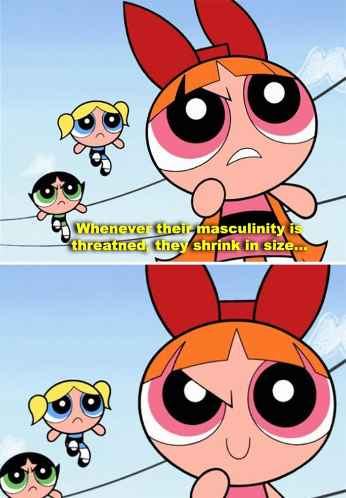 Blossom Totally Laid It All Out On The Powerpuff Girls
