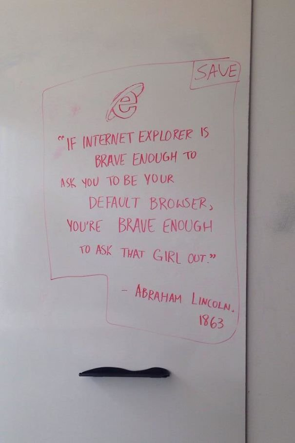 Bravery And Internet Explorer