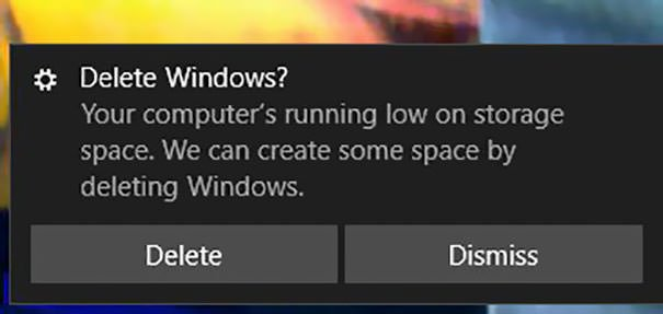 Delete Windows?