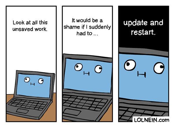 Update And Restart