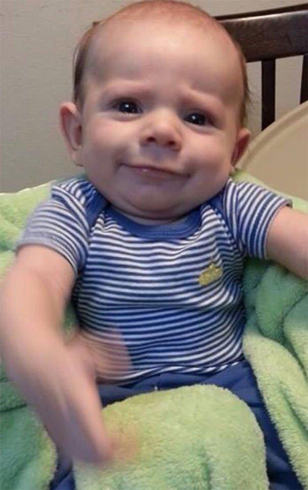 Friends Baby Looks Like Wallace Shawn