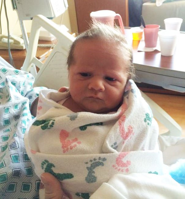 15 Minutes Old And Already Tired Of Your Sh*t