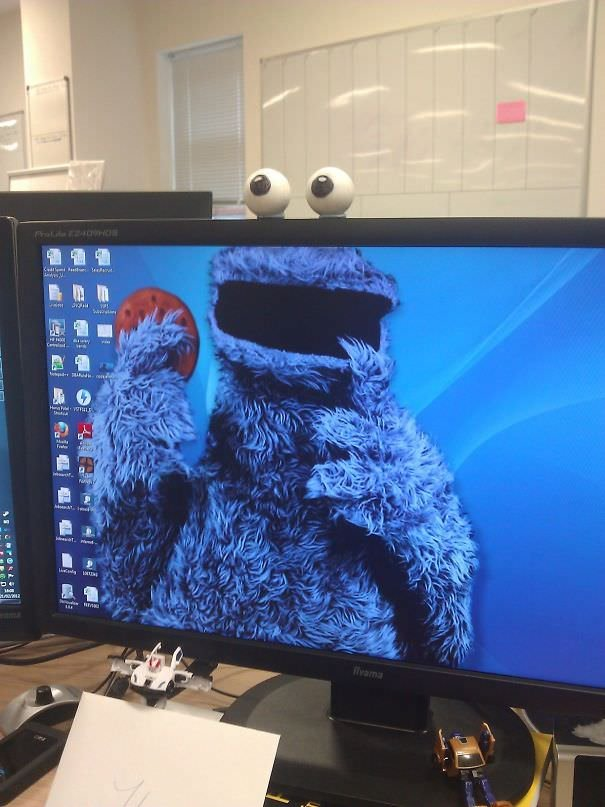 My Colleagues New Desktop