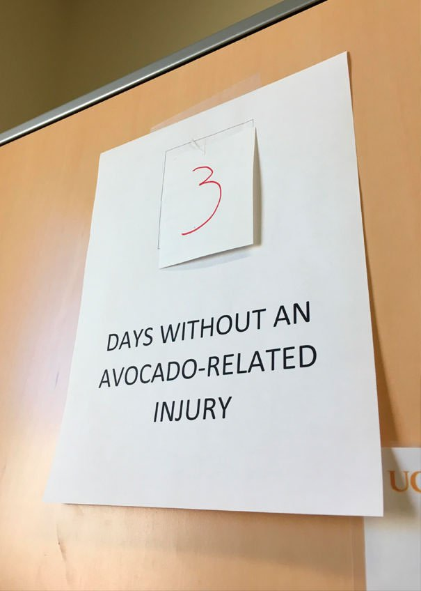 My Coworker Cut Her Hand Open Making Avocado Toast And Had To Get Stitches. Today, I Had This Ready In Her Office When She Came Into Work