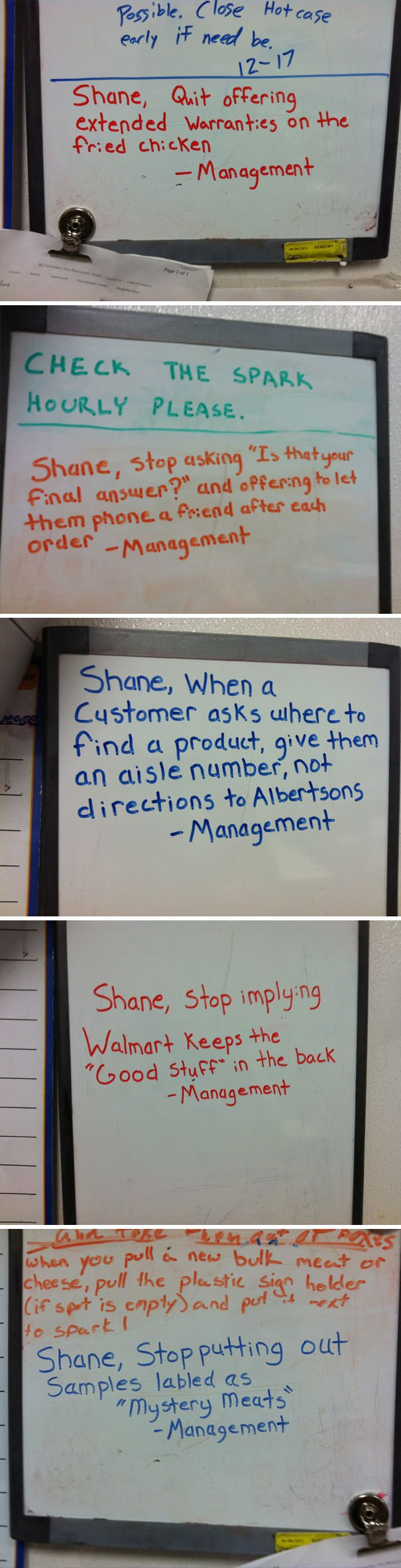 My Coworker At The Walmart Deli Causes A Lot Of Trouble For Management