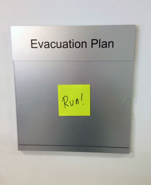 In Case Of Fire, My Coworkers And I Are Fu*ked