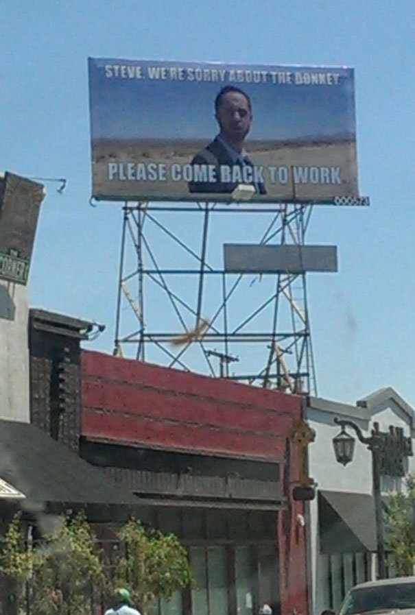 I Would Really Like To Know What This Is About. Took A Picture Of It While Driving Through Hollywood