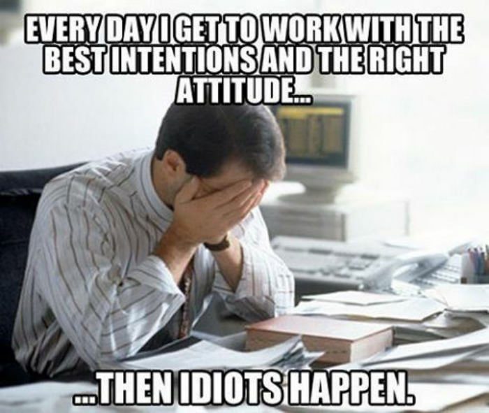 Funny memes about work