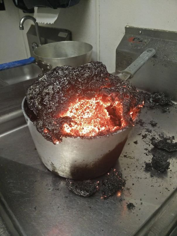 I Forgot I Was Making Caramel At Work. It